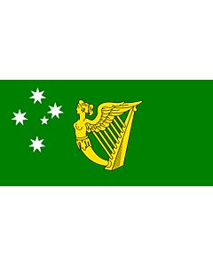 Fahne: Flagge: Australian Irish heritage