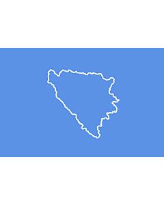 Fahne: Flagge: BiH  First set of proposal 3   Third alternative flag of the First set of Proposals for the Bosnian Flag change