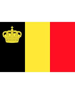 Fahne: Flagge: Belgium yacht ensign