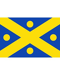 Fahne: Flagge: Zingem | Belgian municipality Zingem