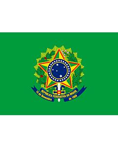 Fahne: Flagge: Presidential Standard of Brazil   Presidential Flag of Brazil