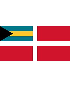 Fahne: Flagge: Civil Ensign of the Bahamas