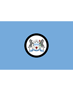 Fahne: Flagge: Standard of the President of Botswana