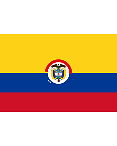 Fahne: Flagge: President of Colombia | That is used by the President of Colombia | Presidente de Colombia | Presidenziale della Colombia