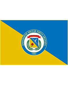 Fahne: Flagge: Universidad Militar Nueva Granada