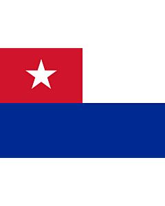 Fahne: Flagge: Naval Jack of Cuba