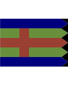 Fahne: Flagge: Jutland | Jutlandic banner | Den Jydske Fane