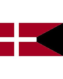 Fahne: Flagge: Naval Ensign of Denmark