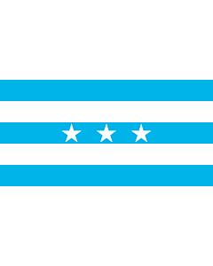 Fahne: Flagge: Guayaquil | City Santiago de Guayaquil in Ecuador; Flag of the Guayas Province