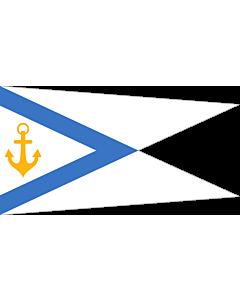 Fahne: Flagge: Estonia - Chief of Naval Forces | Pennant of the Estonian Chief of Naval Forces | Mereväe ülema vimpel