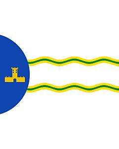 Fahne: Flagge: Abejuela | Abejuela  Teruel