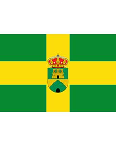 Fahne: Flagge: Oria | Municipio de Oria en la Provincia de Almería  España