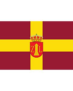 Fahne: Flagge: Zalamea la Real Spain