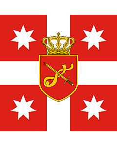 Fahne: Flagge: Georgia. Standard of Chief of General Staff