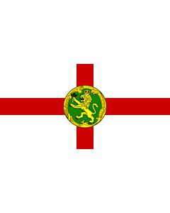 Fahne: Flagge: Alderney   Couleu de Aurni