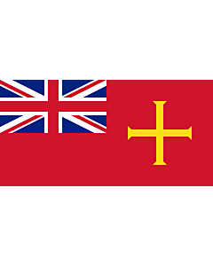 Fahne: Flagge: Civil Ensign of Guernsey