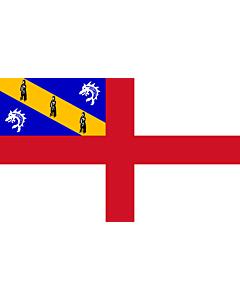 Fahne: Flagge: Herm   Couleu dé Herm