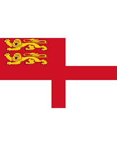 Fahne: Flagge: Sark   Sercq   Couleu de Ser