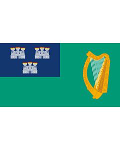 Fahne: Flagge: IRL Dublin   Dublin City, Ireland