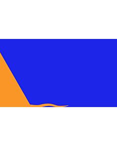 Fahne: Flagge: Sunburst   Modern design of the Irish nationalist  Sunburst flag