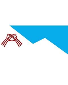 Fahne: Flagge: Osh | Osh city, Kyrgyzstan