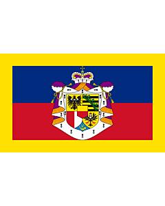 Fahne: Flagge: Fürsten von Liechtenstein