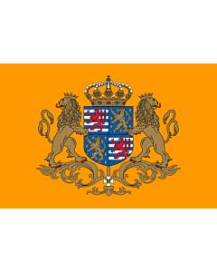 Fahne: Flagge: Standard der Großherzog von Luxemburg