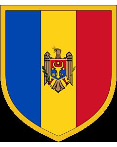 Fahne: Flagge: Scudetto Moldova