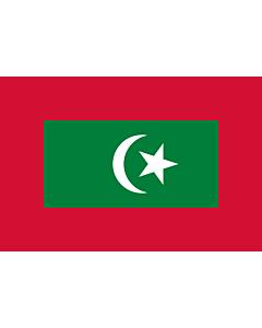 Fahne: Flagge: President of Maldives   Presidential standard of the Maldives