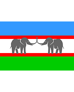 Fahne: Flagge: CANU | Caprivi African National Union of the Free State of Caprivi Strip/Itenge