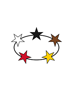 Fahne: Flagge: Suriname  1959–1975 | Suriname | Guyane néerlandaise  1959–1975 | Suriname van 1959 tot 1975