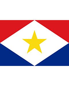 Fahne: Flagge: Saba