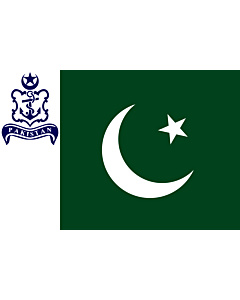 Fahne: Flagge: Naval Standard of Pakistan