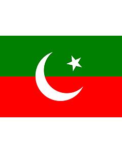 Fahne: Flagge: Pakistan Tehreek-e-Insaf   Pakistan Tehreek-e-Insaf. Created using Inkscape