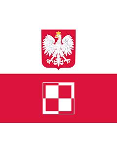 Fahne: Flagge: Commander-in-Chief of the Polish Air Force | Polish Air Force Commander-in-Chief s flag | Dowódcy Sił Powietrznych RP