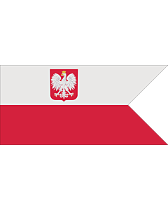 Fahne: Flagge: Naval Ensign of Poland normative