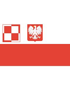 Fahne: Flagge: PL air force flag PRL | Polish Air Force flag  1959-1993 | Lotnictwa wojskowego  1959-1993