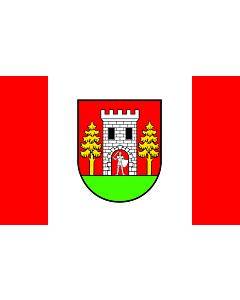 Fahne: Flagge: POL gmina Wielbark | Wielbark Commune | Gminy Wielbark