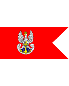 Fahne: Flagge: Polish Navy