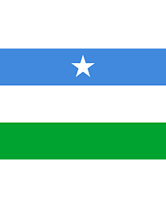 Fahne: Flagge: Puntland