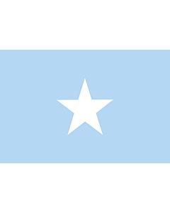 Fahne: Flagge: Somalia Sky Blue