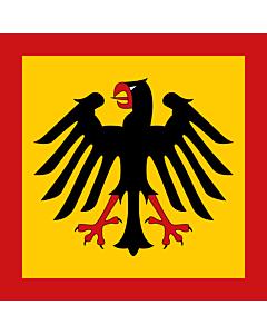 Fahne: Flagge: Bundespräsidenten der Bundesrepublik Deutschland
