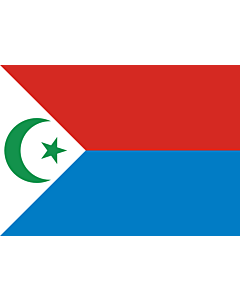 Fahne: Flagge: Frolinat | National Liberation Front of Chad  FROLINAT
