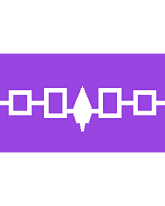 Fahne: Flagge: Iroquois