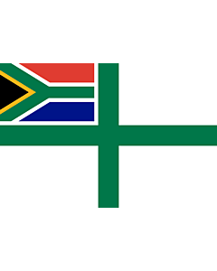 Fahne: Flagge: Naval Ensign of South Africa