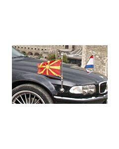 Paar  Original BMW Standartenhalter