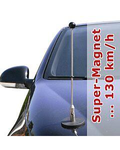 magnetisch haftender Autofahnen-Ständer Diplomat-1.30
