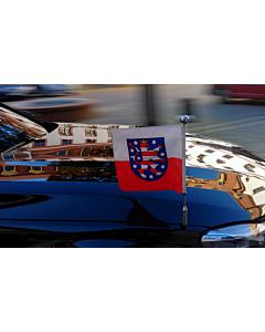 Autoflaggen-Ständer Diplomat-Z-Chrome-Pro-BMW-7-G11